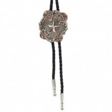 And West Star Bolo With Copper Barbwire BOL149