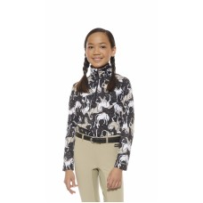 Kerrits Kids Horse Sense Half Zip Riding Shirt 60473