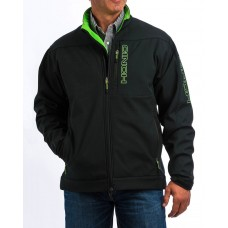 Cinch Men's Black/Green Bonded Jacket MWJ1077053