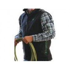 Cinch Western Vest Mens Bonded Logo Pockets Zip L Black Mwv1033005