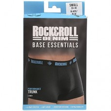 "Rock & Roll Cowboy Mens Black and Blue 3"" Boxer Briefs U3-8951"