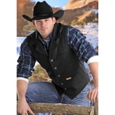 Powder River Outfitters Men's Wool Montana Vest - 98-1176