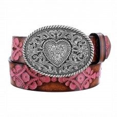 Justin  Hope girl's pink hope belt C30221