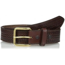 Nocona Mens Brown Basket Money Belt N1012002
