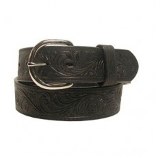 Silver Creek Mens Black Western Belt 53903