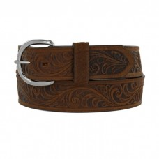 Silver Creek Unisex Bark Western Belt 53909