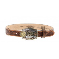 Tony Lama Belts C60154 Tan Lil Champ Belt -C60154