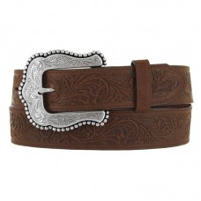 Tony Lama Ladies Brown Layla Western Belt C50739