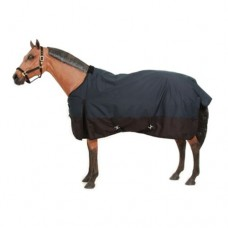 Tough-1 600D Polar Turnout Blanket  Black 32-2010-2