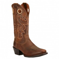 Ariat Men's Sport Boots Square Toe Powder Brown #10017365