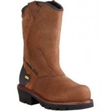 Ariat Mens Brown Powerline H20 400G Work Boots Composite Toe 10018569