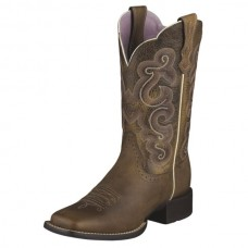 Ariat Womens Quickdraw Western Boots Brown 10006304
