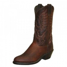 Abilene Mens 12 Inch Bison Brown Western Cowboy Boot 6404