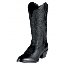 Ariat Womens Black Heritage Western Boots 10001037