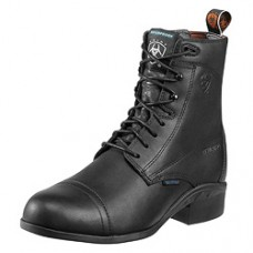 cb27b5a49739 Ariat Womens English Heritage III Paddock H20 Insulated Black Boots 10010162