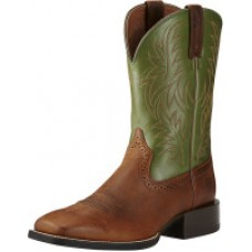 Ariat Men's Sport Western - RFTR Tan / Pesto 10021724