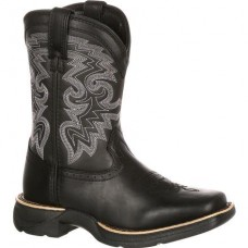 Lil' Durango Big Kid Stockman Western Boot DBT0146