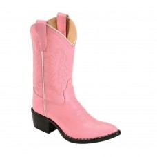 Old West 8119 Pink Calf Leather