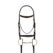 Ovation® Breed Fancy Stitched Raised Padded Bridle- Quarter Horse 469921