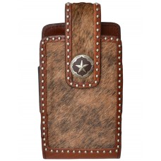 3D Western Cell Phone Case Smartphone Star Concho Brown PH646