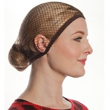 Aerborn Hairnets What Knot Medium To Long Hair Net, Light Brown
