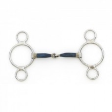 Centaur® Blue Steel 2 Ring Gag Item Number : 470540
