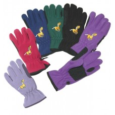 Equi-Star Fleece Riding Gloves, Youth 464264