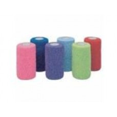 Horse Co-flex Bandage Assorted Colors Box Of 18 4x5 122-299