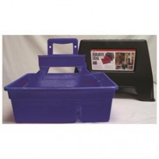 Miller Mfg Co Inc Dura Tote Step Stool- Blue - Dtssblue 084369159159