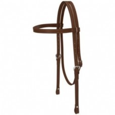 Weaver Leather Draft Horse Headstall Brown 100199st