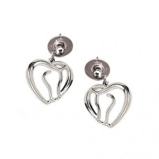 Cowgirl Glam Horses Heart Earrings JE907
