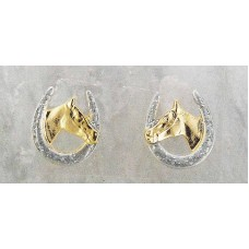 Finishing Touch of Kentucky HorseHead Earring HER3146