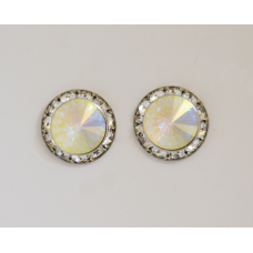 Finishing Touch of Kentucky Crystal AP Rivoli Stone Earrings HER8420