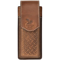 Georgia Western Knife Sheath Leather Diamond Clip GBKH12