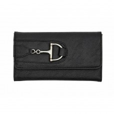 Wallet with Dee Snaffle Bit LW300RD