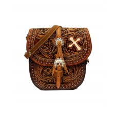 Blazin Roxx Western Handbag Womens Cora Saddle Flap Snap  n7514208