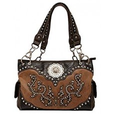 Blazin Roxx Women's Tosha Western Inspired Cross Satchel Bag N7574708