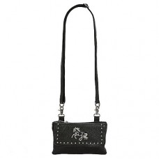 Belt Loop/cross Body Purse Black LP415BK