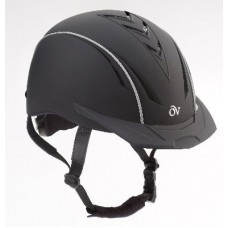Ovation Medium/large Ovation Horse Lightweight Comfort Sync Helmet Black/brown  467567