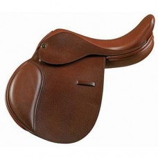 Camelot Childs Close Contact Saddle Dark Brown 469898