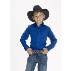 CHILD'S Western Shirt ROYAL 600