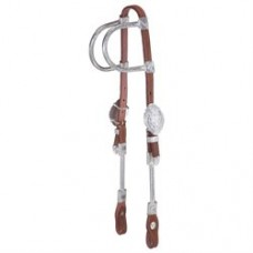 Tough-1 Ferruled Double Ear Headstall 18-650