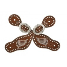 3D Brown Small Spur Straps SS45