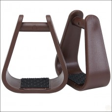 Tough 1 Royal King Tough Polymer Youth Horse Stirrups Pair With 2 Inch Neck 57-1383-0-0