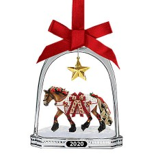 Breyer  2020 Holiday Stirrup Ornament - Yuletide Greetings, 700321