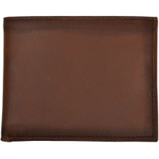 3D Wallet Men Leather Bifold Basic Distressed W622