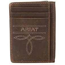Ariat Card Case Wallet With Money Clip A3531844