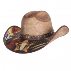 Bullhide I Need A Drink Straw Hat 2915