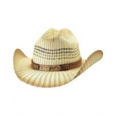 Bullhide Women's Caught Up Straw Hat 5015