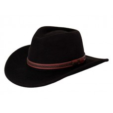 Outback Trading Hat Mens Quality High Country Wool XL Tanbark 1328